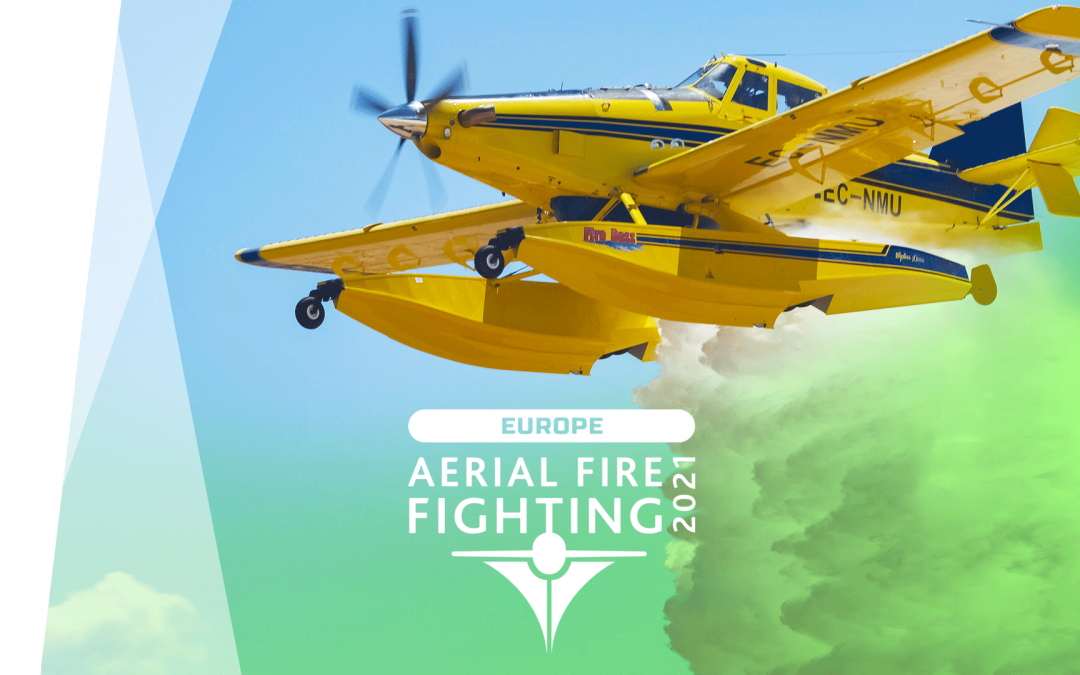 En octubre estaremos en Aerial Fireghting Europe 2021